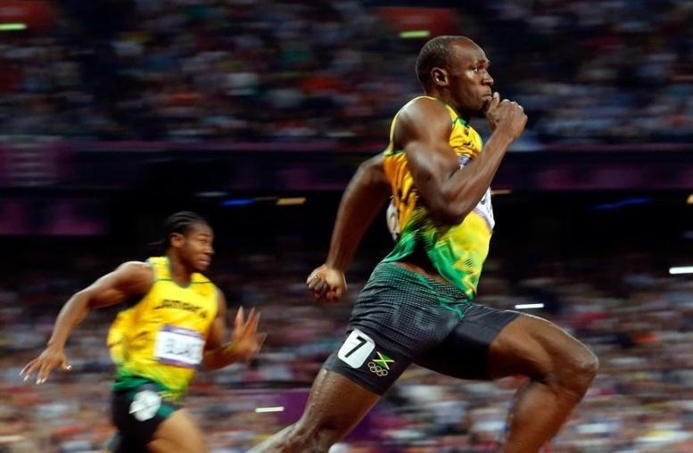 Athlétisme: Meeting de Londres, Usain Bolt met les choses au point sur 100 m en 9''85 !