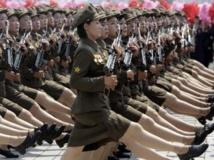 Grande parade militaire à Pyongyang ce samedi 27 juillet 2013 pour fêter la «victoire» de 1953. REUTERS/Jason Lee