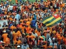 Le collectif Sauvons le Togo, ici lors d'un meeting le 23 juillet 2013 à Lomé, dénonce des cas de fraude. AFP PHOTO/PIUS UTOMI EKPEI