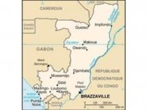 Carte du Congo-Brazzaville. Eric Gaba / Wikimedia public domain