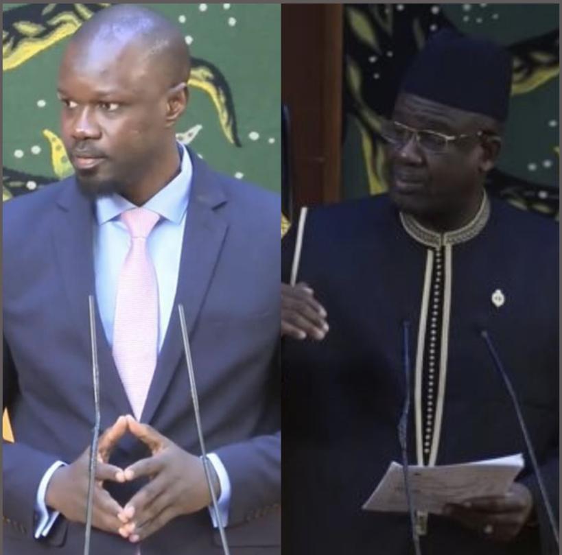 Ousmane Sonko sur son altercation avec Mberry Sylla : « Je l'ai tabassé et même déshabillé »