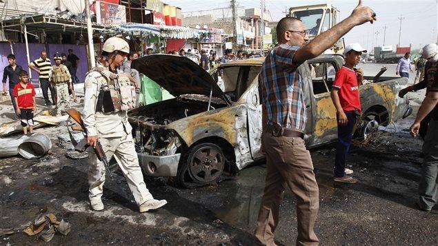 Irak : les attentats de lundi revendiqués par al-Qaïda