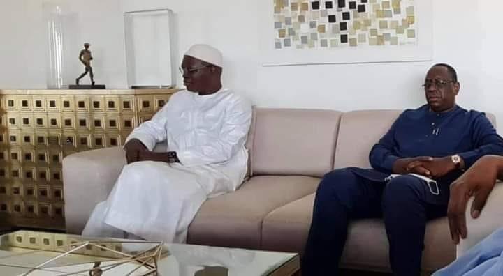 Le President Macky Sall s'est rendu chez Khalifa Sall ce dimanche
