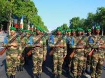 L'armée malienne au défilé du 14-Juillet à Paris