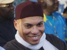Karim Wade participe à Dakar, le 6 décembre 2012. REUTERS/Joe Penney/