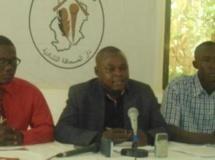 Eric Topona, secrétaire général de l'Union des journalistes tchadiens (UJT), est incarcéré depuis le 6 mai 2013.