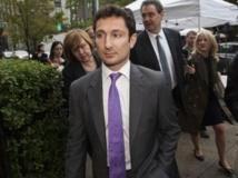 Le Français Fabrice Tourre, ex-trader de Goldman Sachs, jugé coupable de fraudes boursières, le 1er aout 2013. REUTERS/Keith Bedford