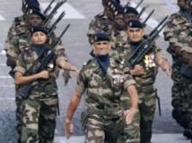 Préserver le taux d'équipement et le niveau d'entraînement des armées figure au rang des priorités pour le ministère de la Défense. AFP/Migulel MEDINA