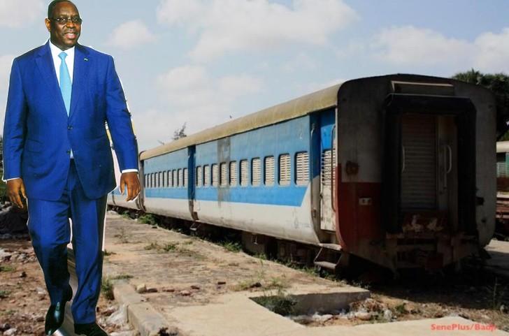 Thiès : Macky annonce une nouvelle ligne de chemin de fer de 656 km entre Dakar et Tambacounda
