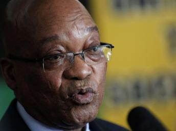 Le président Jacob Zuma félicite son homologue Robert Mugabe pour sa réélection