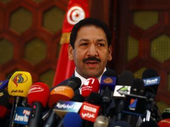 Lofti Ben Jeddou, le ministre tunisien de l'Intérieur. Reuters