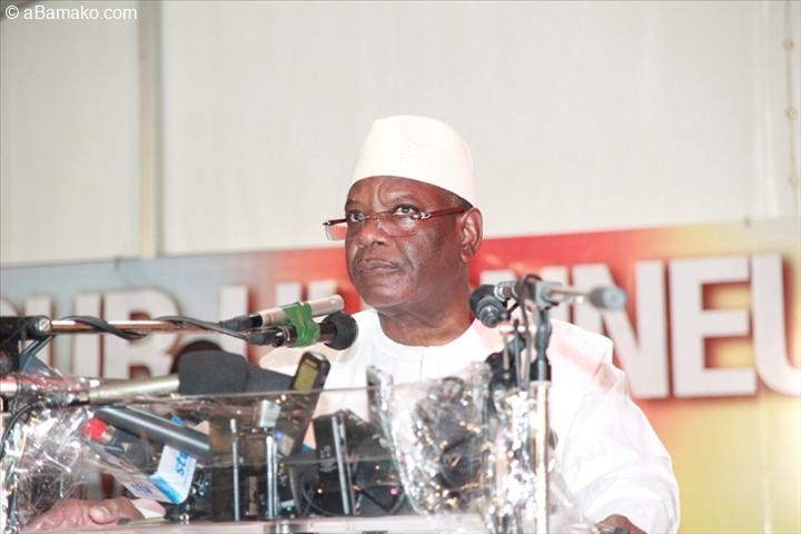 Présidentielle au Mali: IBK demande aux électeurs une «majorité claire et nette» au second tour