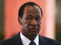 Blaise Compaoré, le président burkinabè. REUTERS/Noor Khamis