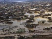 Khartoum sous les eaux, le 5 août 2013. Reuters