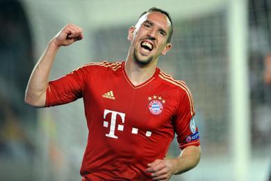 F. Ribéry en course pour le titre de meilleur joueur 2012-2013