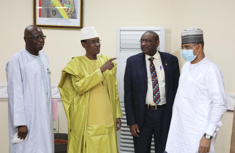 Mali : audience entre le Premier ministre et une délégation de la CEDEAO