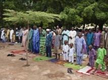 Prière devant la Grande mosquée de Bamako en ce jour de fête de l'Aïd, jeudi 8 août 2013. REUTERS/Joe Penney