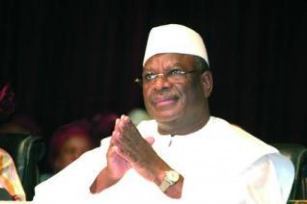 Ibrahim Boubacar Keïta. Pierre René-Worms / RFI