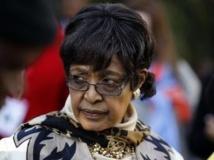 Winnie Madikizela-Mandela, l'ex femme de Nelson Mandela. REUTERS/Siphiwe Sibeko