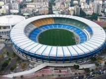 Dans le mythique stade Maracana, pas possible de trouver une place à moins de 25 euros. Reuters
