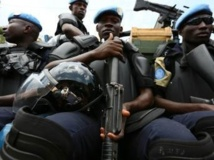 Les forces spéciales de la gendarmerie sénégalaise sous mandat de l'ONU sont en alerte. RFI/Pierre René-Worms