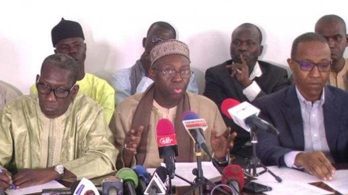 Modification du Code électoral : l'opposition sénégalaise face à la presse dimanche soir