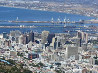 Centre-ville du Cap, Afrique du Sud. Wikimedia