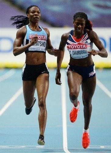 Finale 400m Dames: Amantle Montsho perd son titre sur le fil