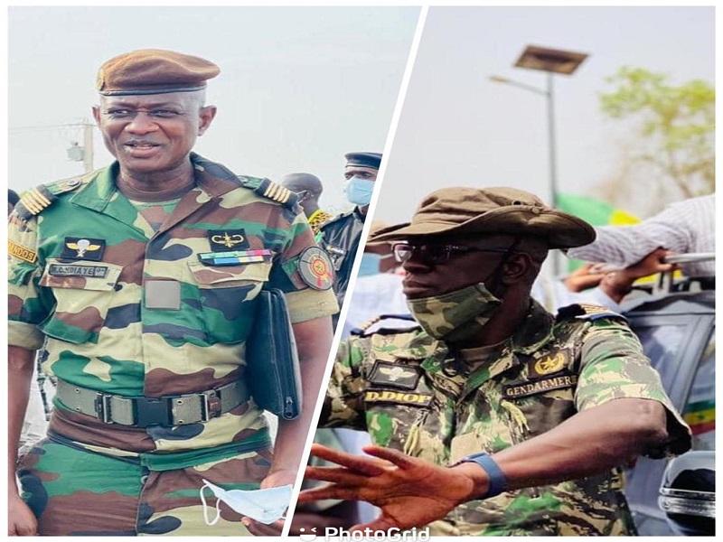 Colonel Daouda Diop, gouverneur militaire du Palais, promu