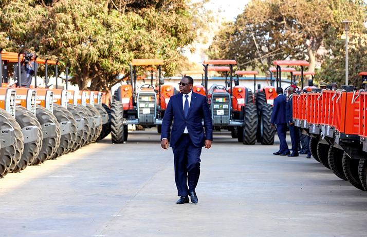 Remise matériels agricoles: Macky Sall dote les producteurs et annonce une révolution agricole