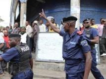 Manifestation à Goma contre la Monusco, le vendredi 2 août 2013 ; de nombreuses voix se sont élevées récemment dans la région contre les agissements de la Monusco, dont celle du député Nzangi. Stéphanie Aglietti/RF