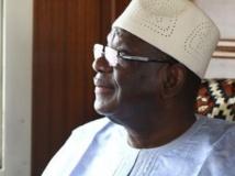 Ibrahim Boubacar Keïta, IBK, à Bamako, 25 juillet 2013. RFI/Pierre René-Worms