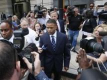 Jesse Jackson Jr à la sortie du tribunal, à Washington, le 14 août 2013. REUTERS/Jason Reed
