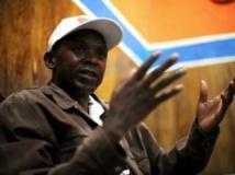 Agathon Rwasa, chef de l'ex-rébellion des Forces nationales de libération (FNL), nie toute responsabilité dans le massacre de Gatumba en août 2004. Roberto Schmidt/AFP