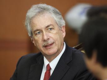 William Burns secrétaire d'Etat américain adjoint, a été l'un des négociateurs à tenter de trouver une solution à la crise égyptienne