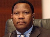 Hama Amadou, le président de l'Assemblée nigérienne. AFP/MAHMUD TURKIA