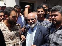 Mohamed Khalifa al-Cheikh à ses débuts, le 2 juin 2013 à Tripoli. AFP PHOTO/MAHMUD TURKIA
