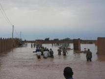 Les inondations dans la ville d'Agadez au Niger. Raliou Hamed-Assaleh Des inondations dans la ville d'Agadez au Niger, en septembre 2009.