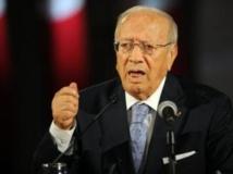 Beji Caid Essebsi, leader de Nida Tounes, en juin 2011. AFP / FETHI BELAID