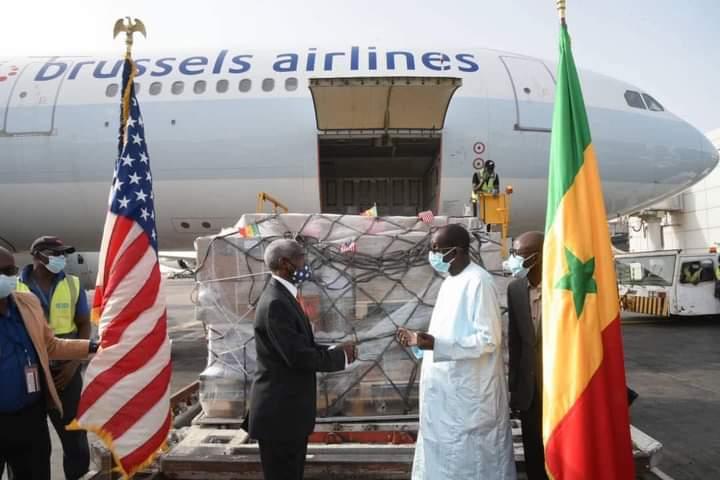 Le Sénégal reçoit un don de 151 200 doses du vaccin Jonhson & Johnson des Etats-Unis