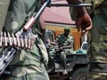 Soldats du M23. Le sommet de Luanda s'ouvre au moment où les hostilités reprennent entre le M23 et les FARDC. AFP PHOTO/ ISAAC KASAMANI