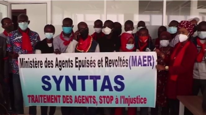 Le SYNTTAS reprend sa grève de la faim lundi