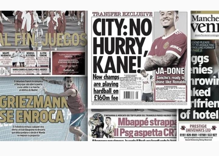 Le PSG a trouvé le remplaçant de Mbappé, City joue la montre dans le dossier Harry Kane