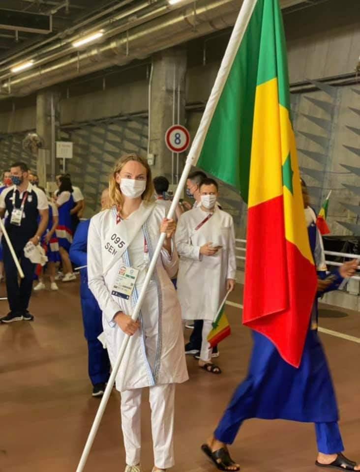 Jeanne Boutbien, la porte-drapeau du Sénégal aux JO de Tokyo intrigue la toile