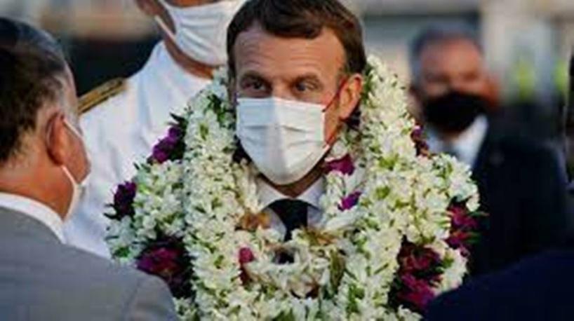 Emmanuel Macron entame sa visite en Polynésie sous le signe de la crise sanitaire