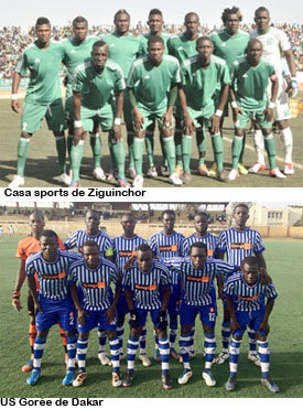 Finale Coupe de la Ligue- Casa Sports vs Us Gorée : les insulaires pour se consoler de leur relégation en Ligue 2 cet après midi