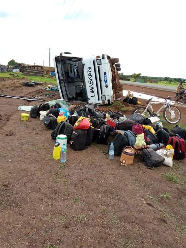 Kédougou: Un bus se renverse et fait 48 blessés dont deux graves