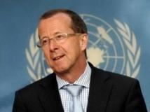 Martin Kobler, chef de la Monusco et représentant spécial du secrétaire général de l'ONU Ban Ki-moon en RDC.