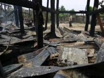 Le village de la région de Sagaing où se sont produits les faits ce dimanche. Photo: 25 août 2013. REUTERS/Soe Zeya Tun