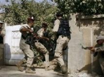Des membres des brigades sunnites du Sahoua lors d'une opération en 2009. (Photo : Reuters)